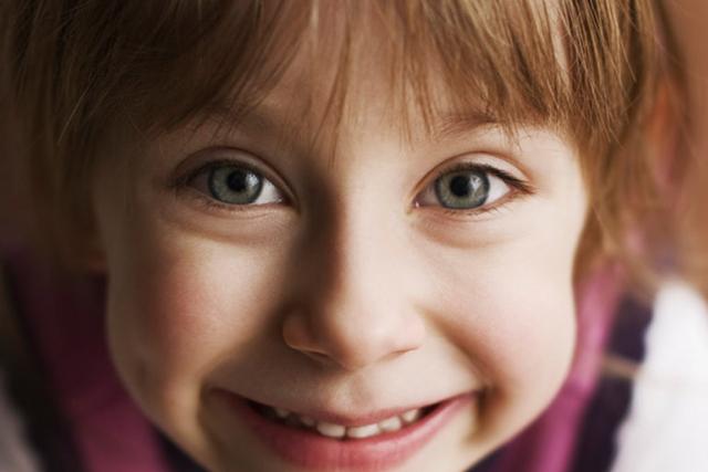 Kinder Augen