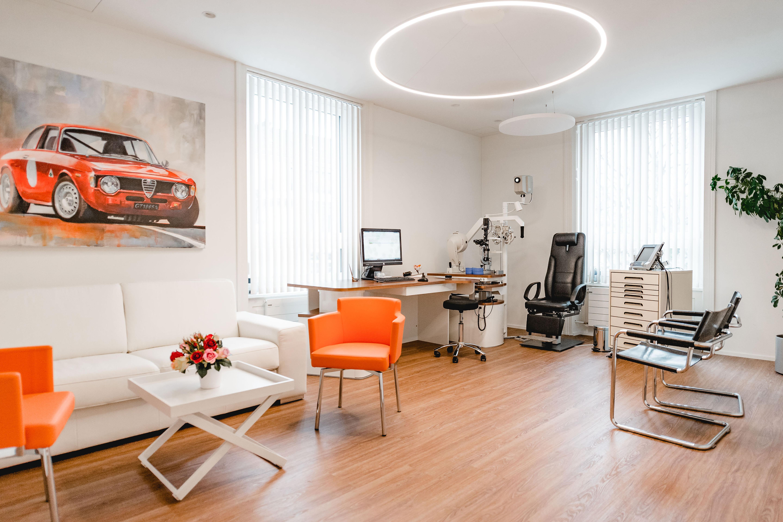 Bei uns finden Sie moderne Behandlungszimmer